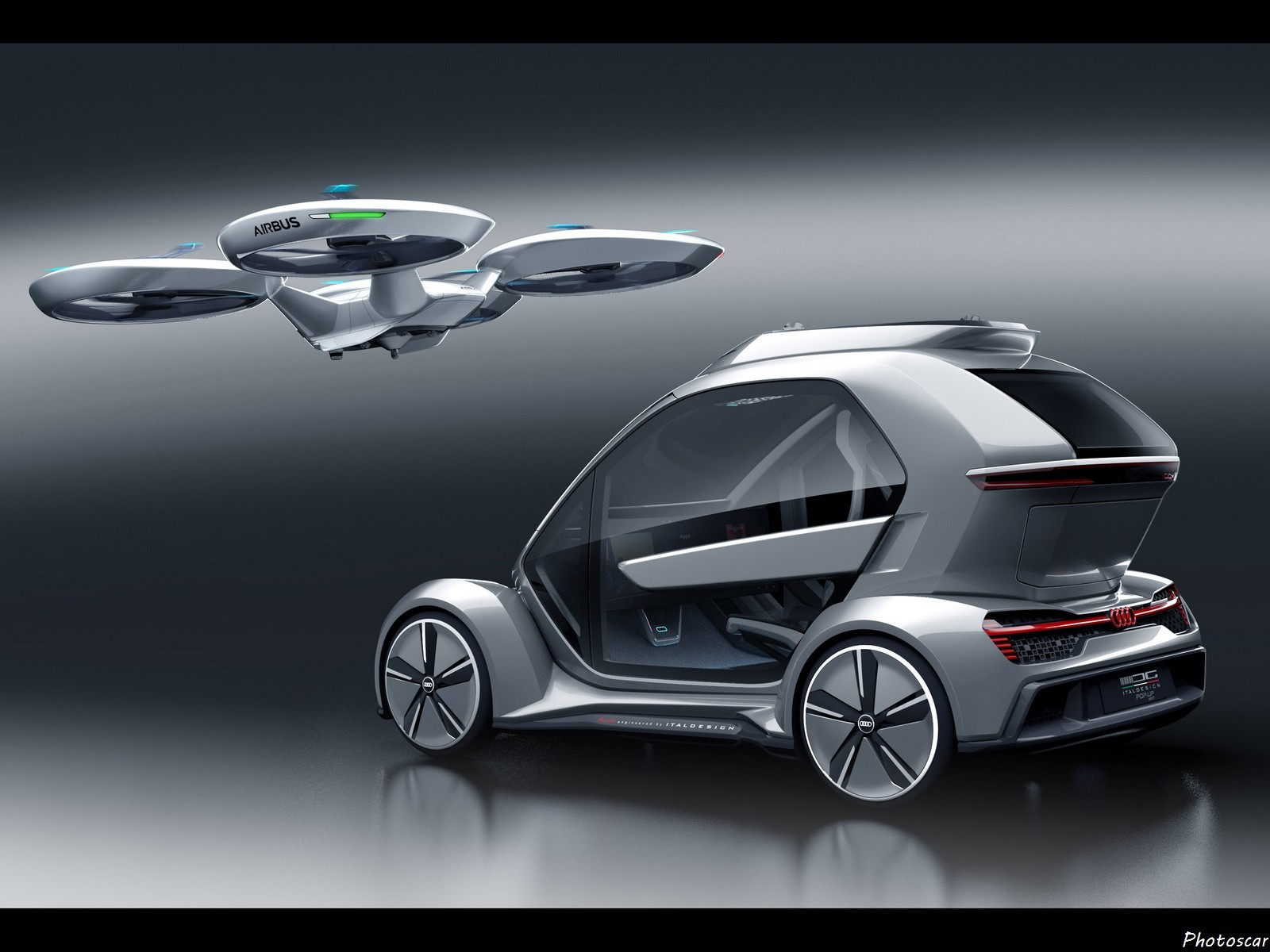 Audi Airbus Pop-Up Next Italdesign 2018
