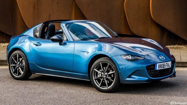 Mazda MX-5 RF Sport Black UK 2018