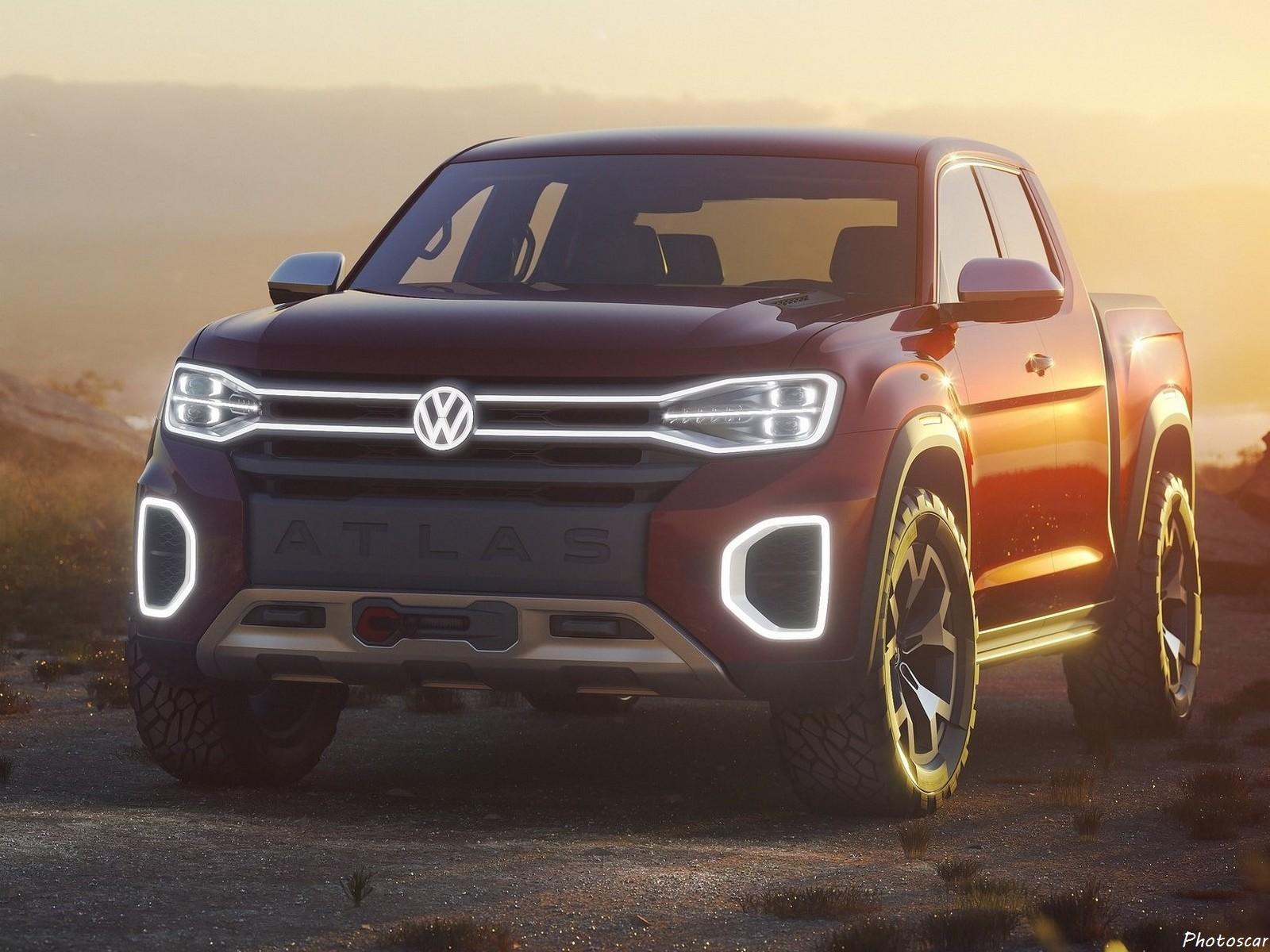 Volkswagen Atlas Tanoak 2018 Un Pick Up A La Sauce Amricaine