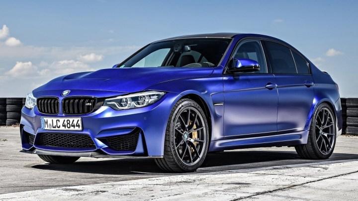 Nouvelle BMW M3 CS 2018 de 454 chevaux dévoilée