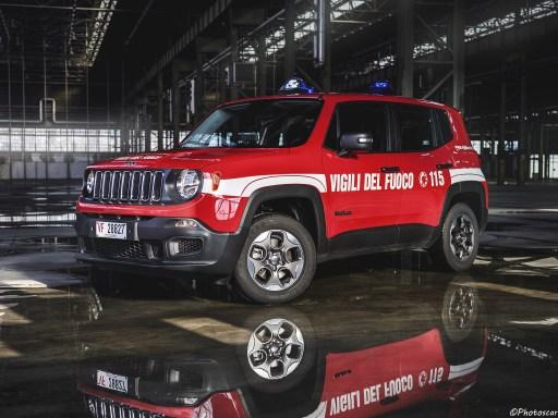Jeep Renegade Sport Vigili Del Fuoco-2018