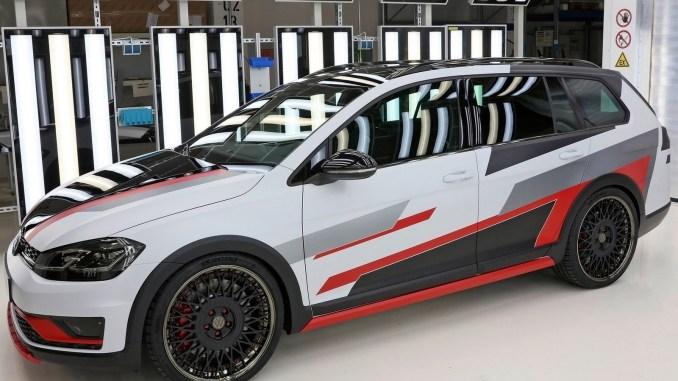 Volkswagen Golf Variant TGI GMotion Concept 2018