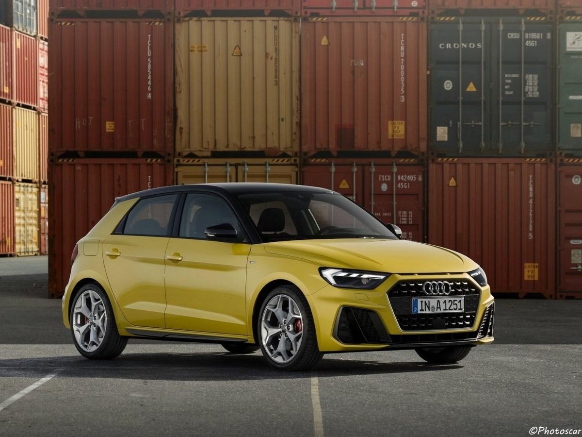 Audi A1 Sportback (2019) - Moteur 3 cylindres de 1,0 litre et de 96 ch