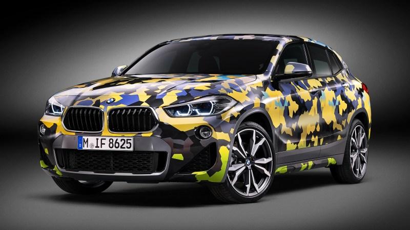 BMW X2 Digital Camo Concept F39 2018 – Camouflage numérique
