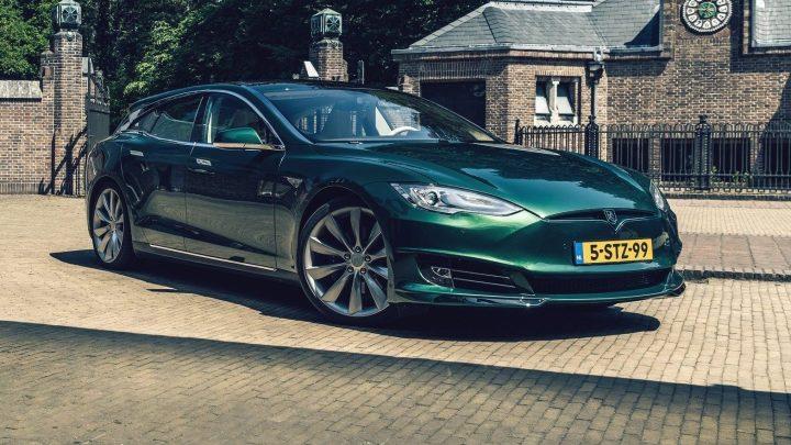 Tesla Model S Shooting Brake 2018: Un magnifique wagon électrique