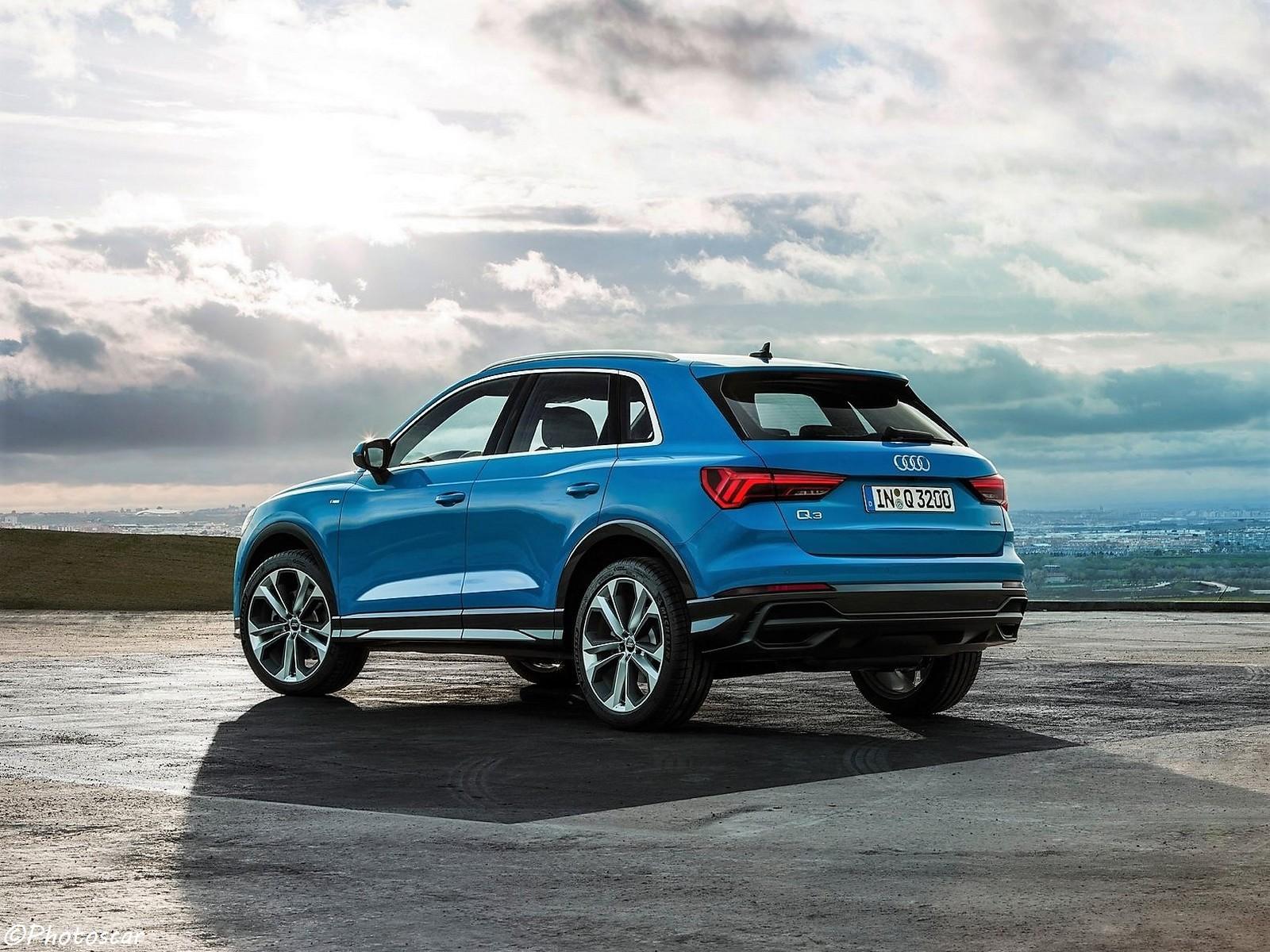 Audi Q3 2019 - Face arrière