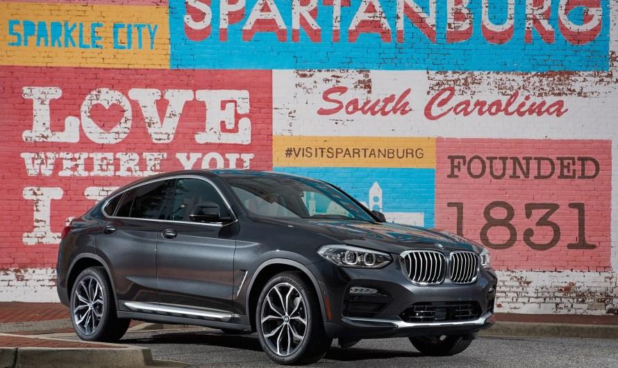 BMW X4 xDrive30i G02 2018: Une nouvelle ligne de toit plus élégante et sportive