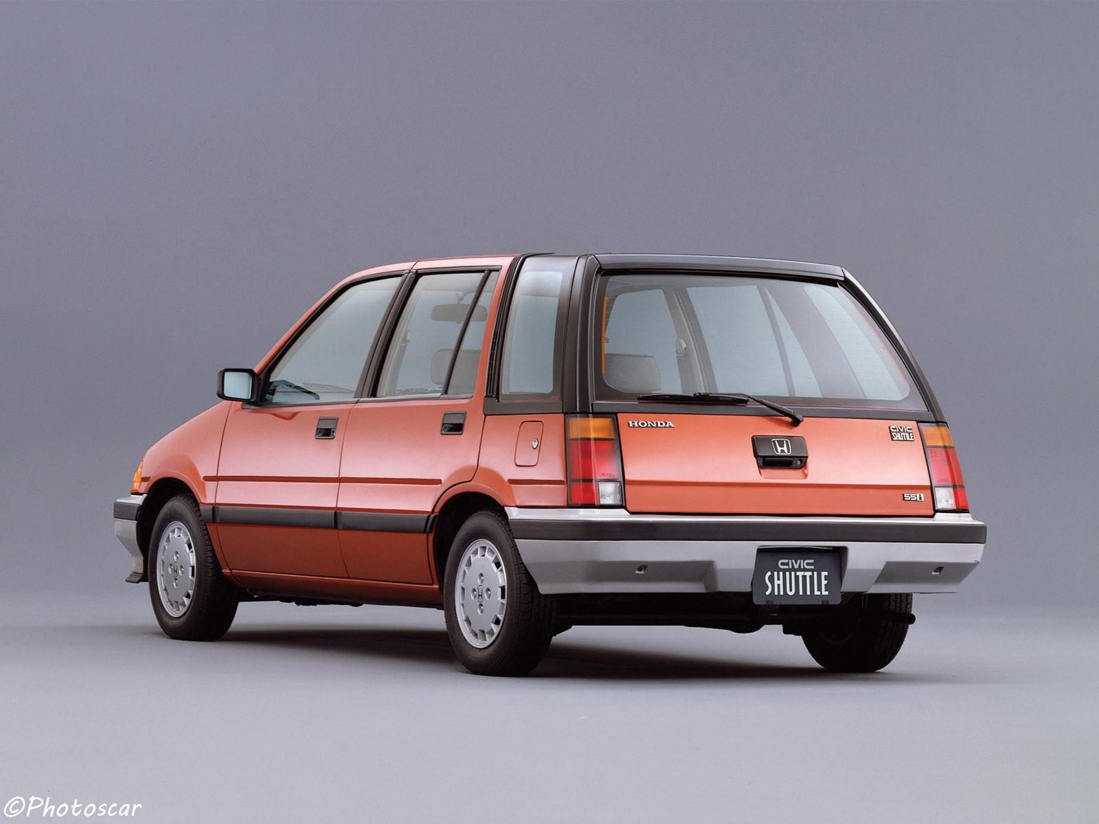Honda Civic Shuttle 1983 basée sur le châssis EF Civic de ...