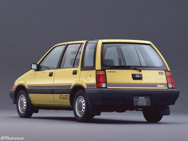 Honda Civic Shuttle 4WD 1983
