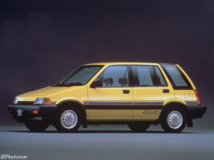 Honda Civic Shuttle 4WD 1983
