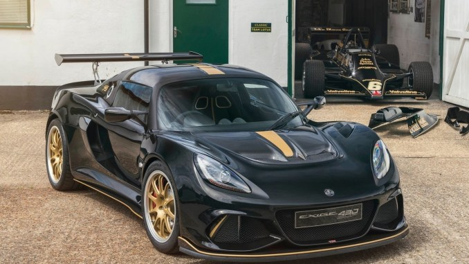 Lotus Exige Cup 430 Type 79 2018