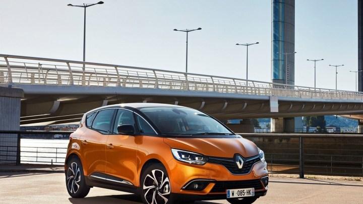 Renault Scenic 2017 – Un design compact et sensuel