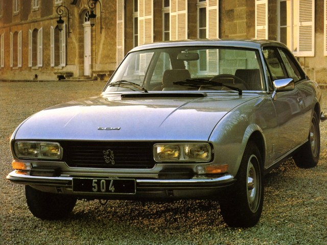 Peugeot 504 Coupe 1974