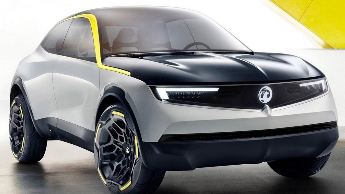 Vauxhall GT X Experimental 2018 – Un crossover électrique compact