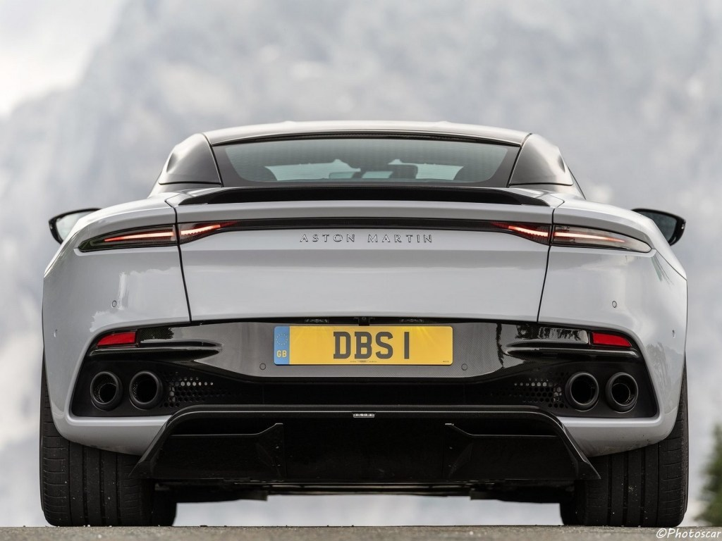 Aston-Martin DBS Superleggera White Stone 2019