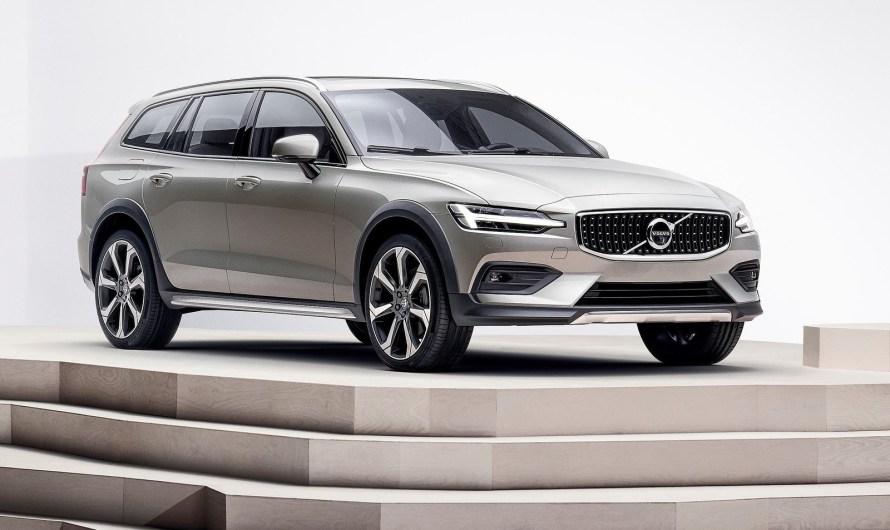 Volvo V60 Cross Country 2019 avec un Design Scandinave Élégant