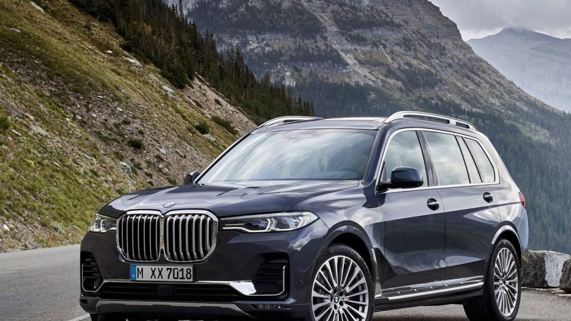BMW X7 2019 crée une impression de luxe et de modernité