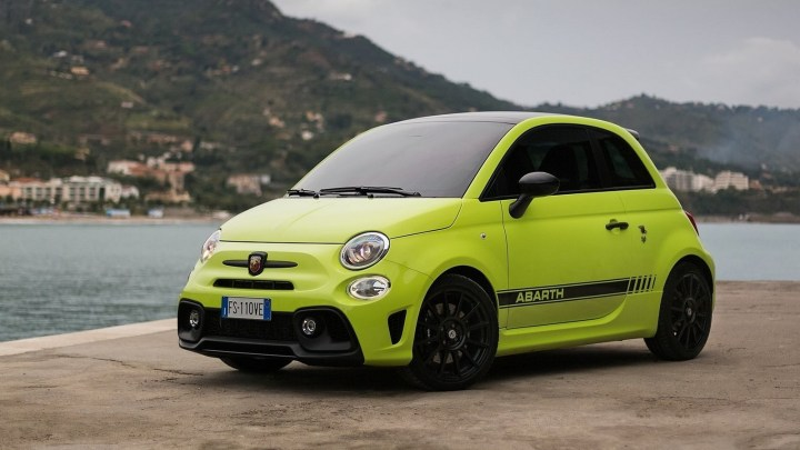 La nouvelle Fiat Abarth 595 sera encore plus agressive en 2019.
