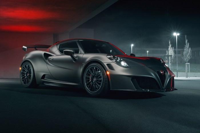 Alfa Romeo 4C Nemesis de Pogea Racing double sa puissance