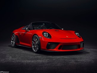 Porsche 911 Speedster II Concept 2018