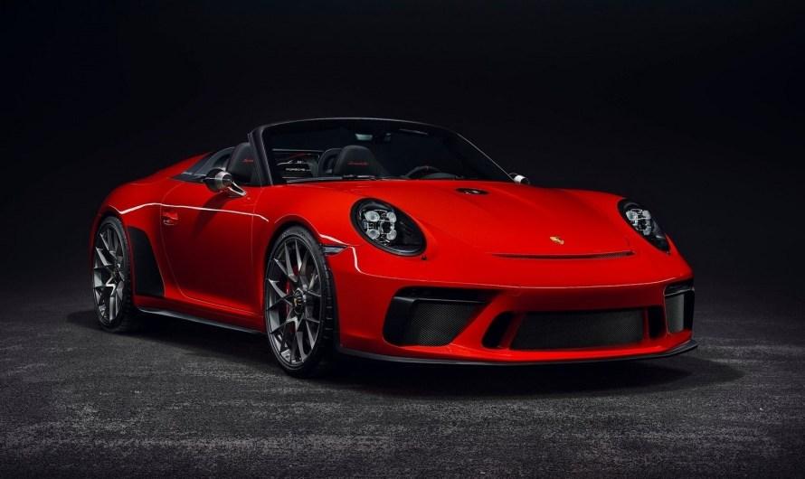 Porsche 911 Speedster II Concept au Salon de Paris 2018