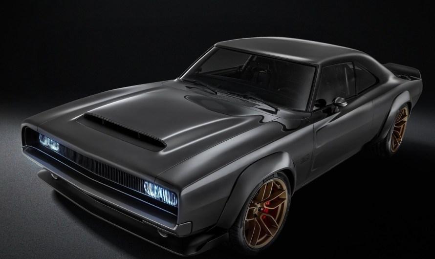 "Dodge Super Charger 1968 Concept 2018 – Moteur ""Hellphant"" V8 Hemi"