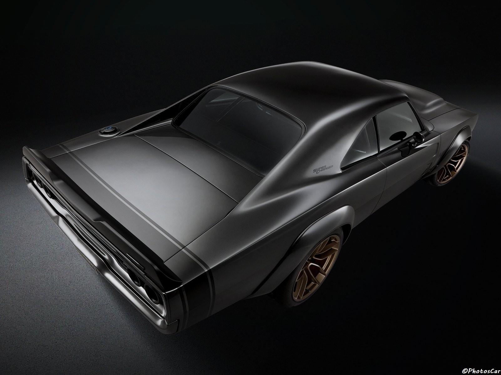 Dodge Super Charger 1968 Concept 2018