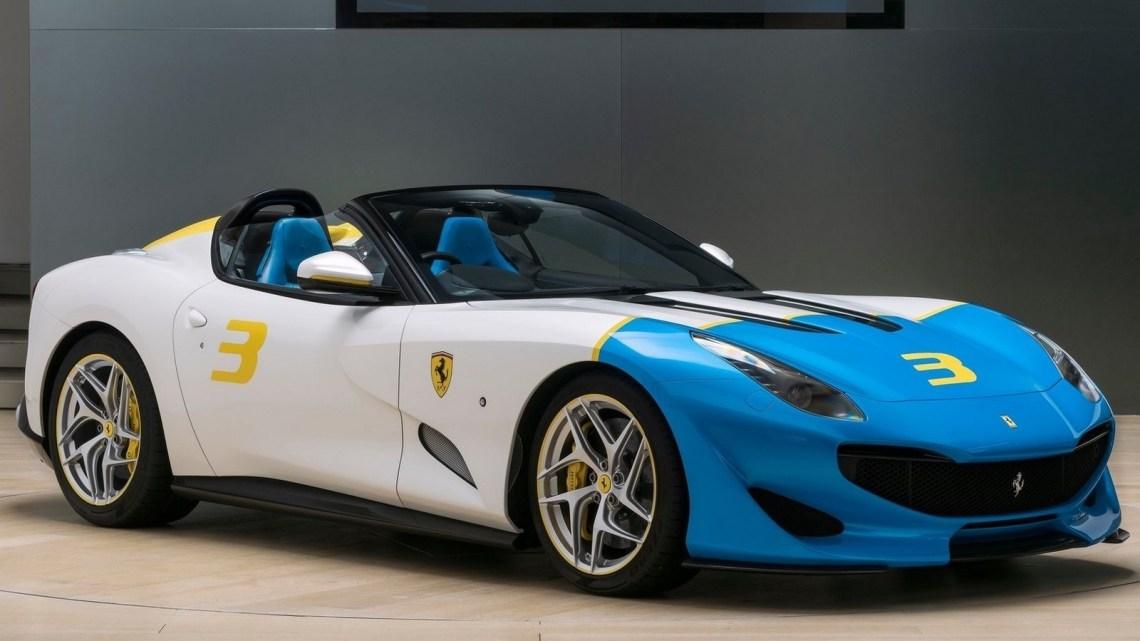 Ferrari SP3JC 2018 inspire des spyders V12 des années 50 et 60