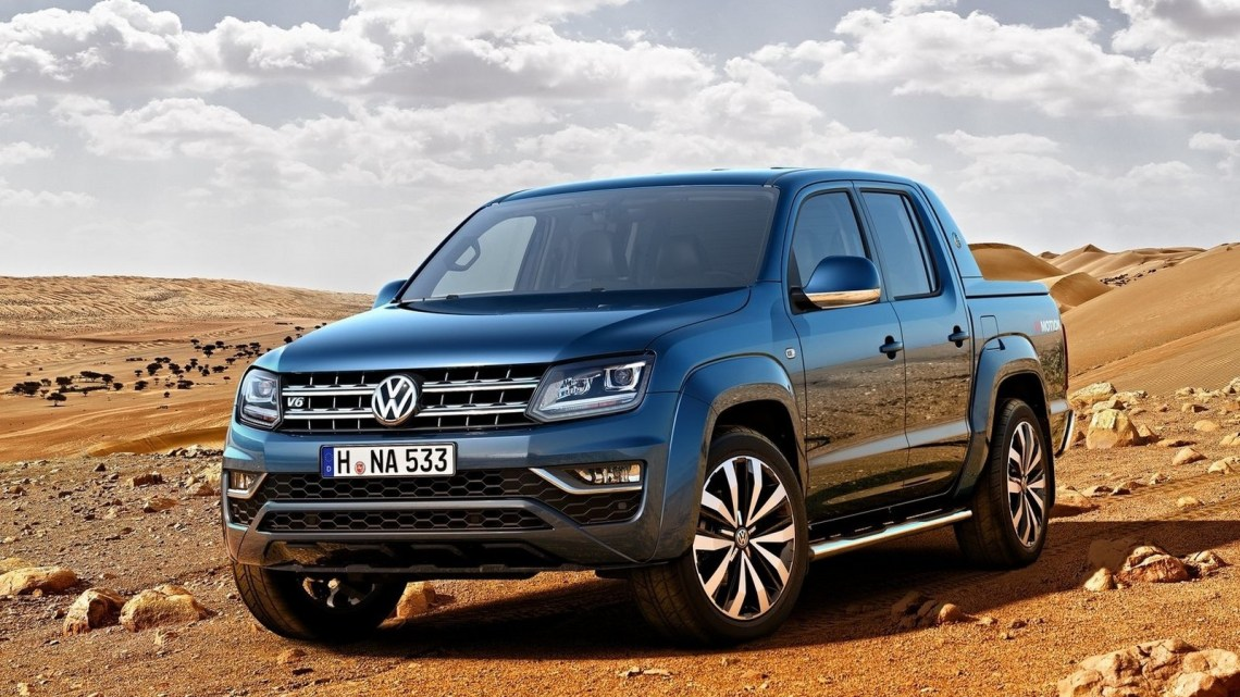 Volkswagen Amarok 2017 – Nouveau TDI V6 de 3,0 litres avec 165 kW