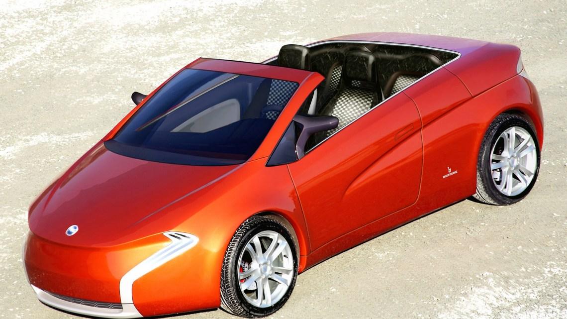 Bertone Suagna Concept 2006  possède une identité forte et agressive