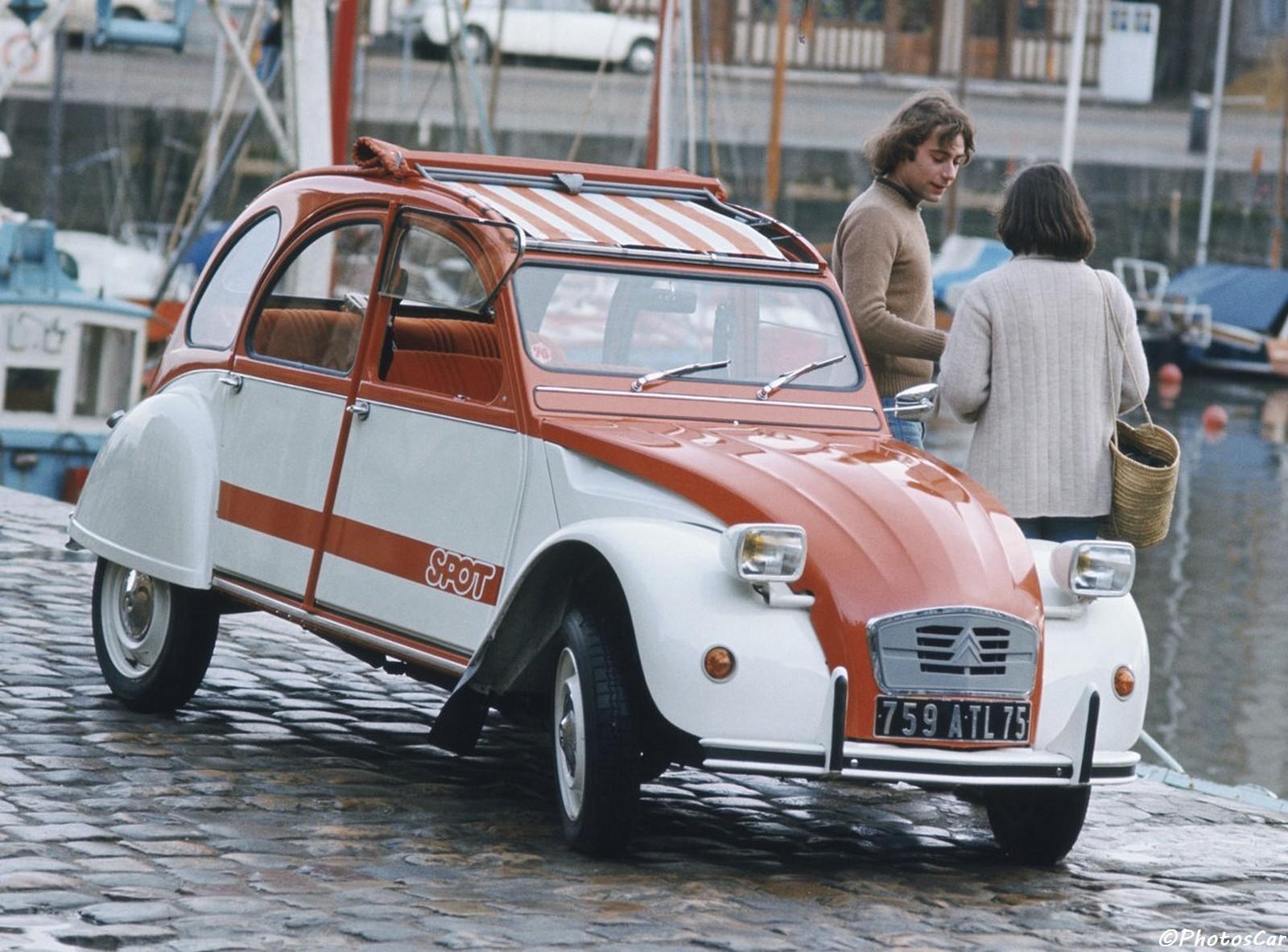 Citroen 2CV Spot 1976