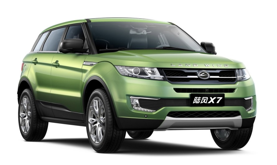 Landwind X7 2015 – La copie de l'Évoque en provenance de Chine