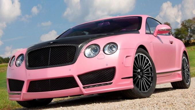 Mansory Bentley Continental GT Vitesse Rose 2009