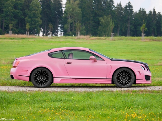Mansory Bentley Continental GT Vitesse Rose 2009