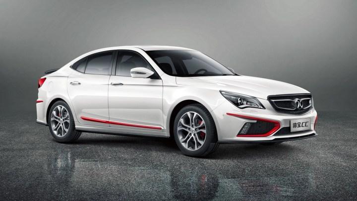 BAW Senova CC 2015 lancé sur le marché automobile chinois