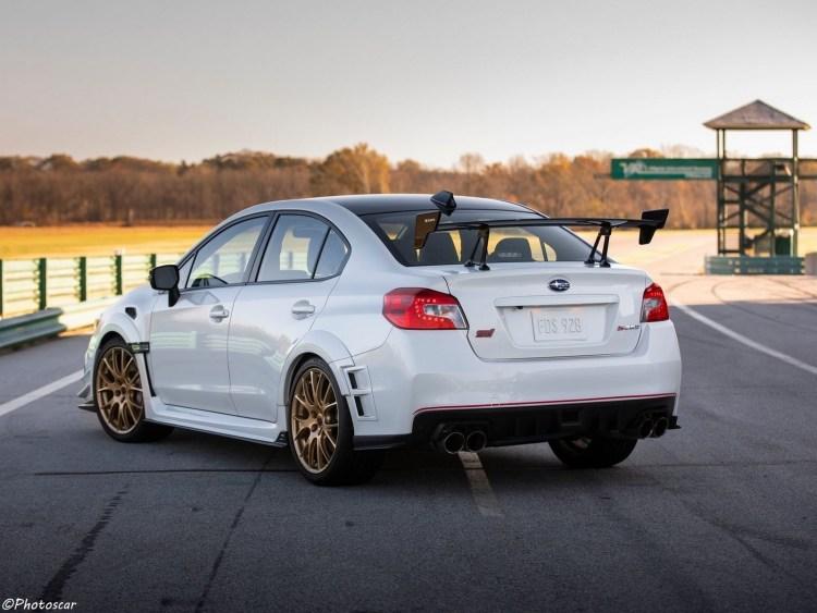 Subaru WRX STI S209 2019