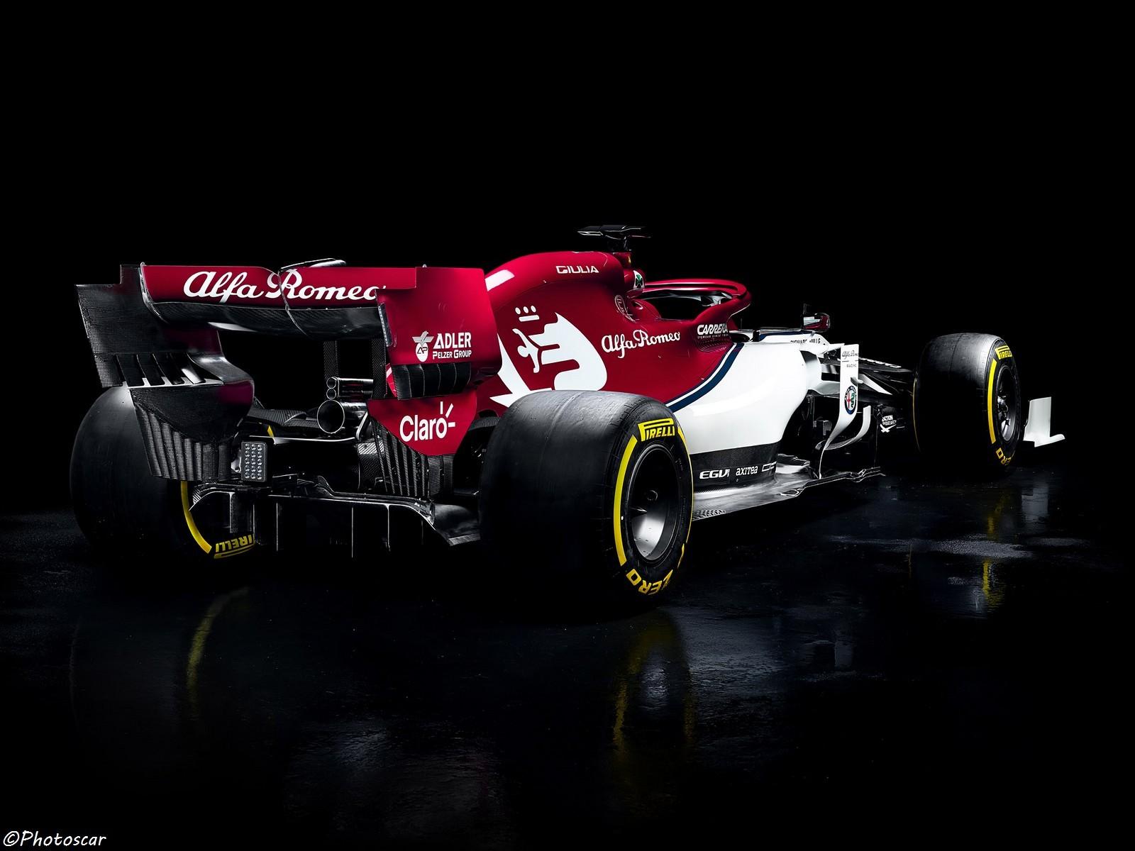 Alfa Romeo C38 F1 2019