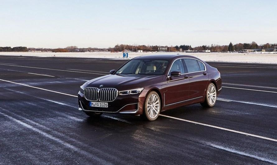 BMW 745Le Serie 7 2020 synonyme d'assurance et de confort supérieur.