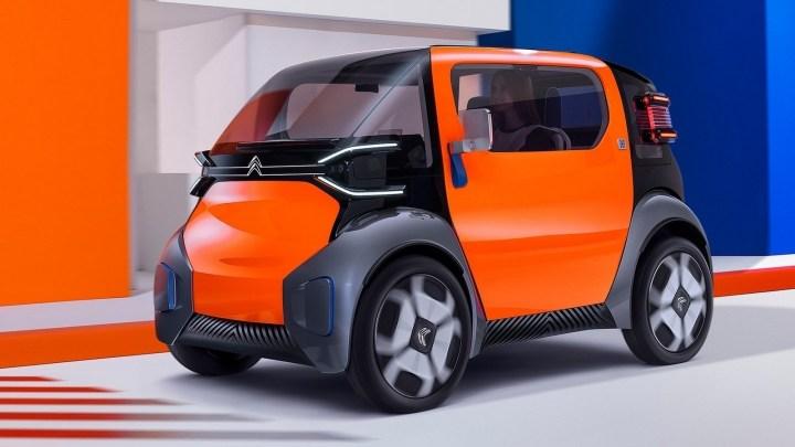 Citroen Ami One Concept 2019: La petite citadine électrique sans permis