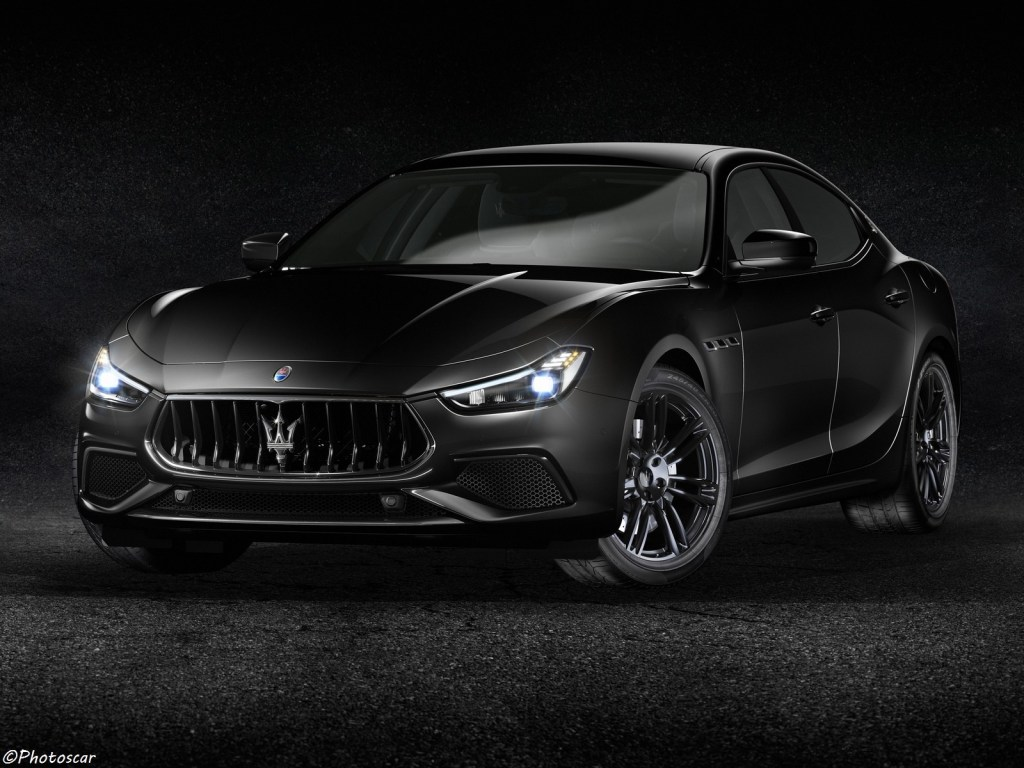 Maserati Ghibli S Q4 Nerissimo 2018 – Une berline au look agressif