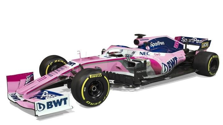 Racing Point RP19 F1 2019 – Son nouveau sponsor, la Firme SportPesa.