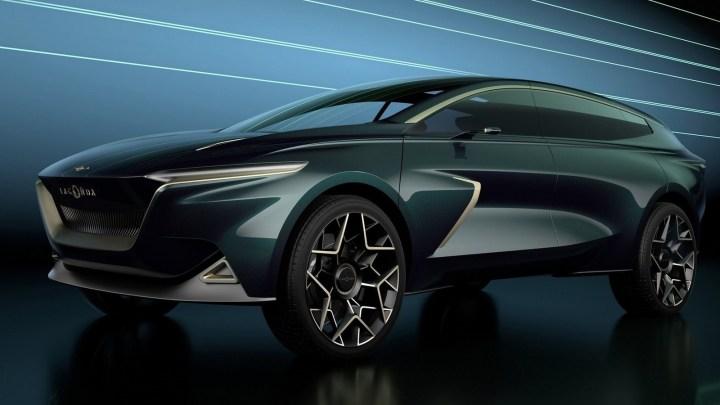 Aston Martin Lagonda All-Terrain Concept 2019: Autonome et électrique.