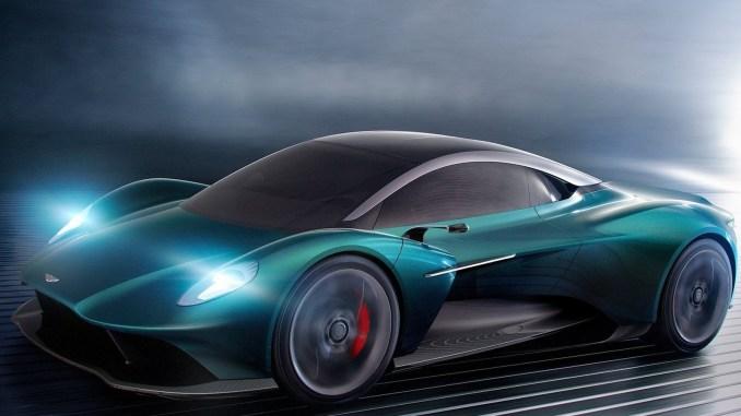 Aston Martin Vanquish Vision Concept 2019