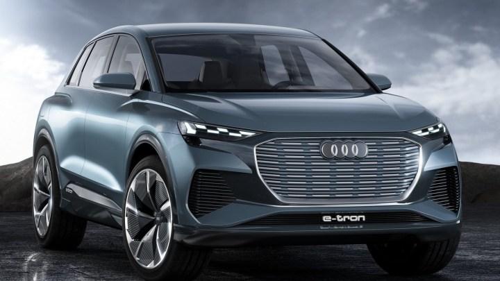 Audi Q4 e-tron Concept 2019 – Un nouveau SUV 100% électrique.