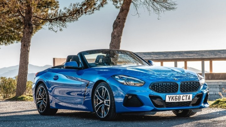 BMW Z4 2019 Version UK – Disponible en versions sDrive 20i et sDrive 30i