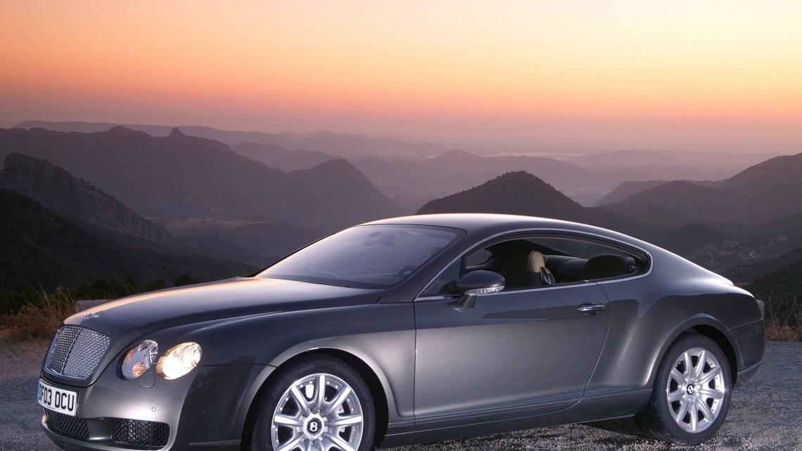 Bentley Continental-GT 2003 – Une  agilité malgré son poids.