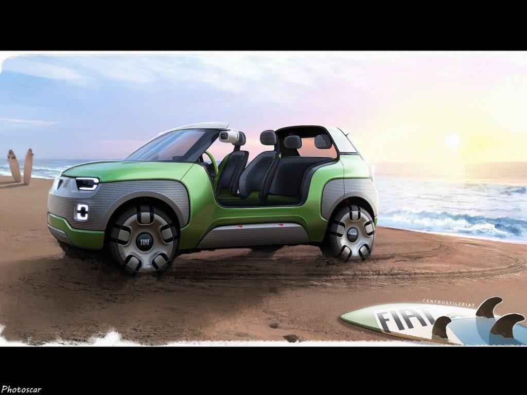 Fiat Centoventi Concept 2019