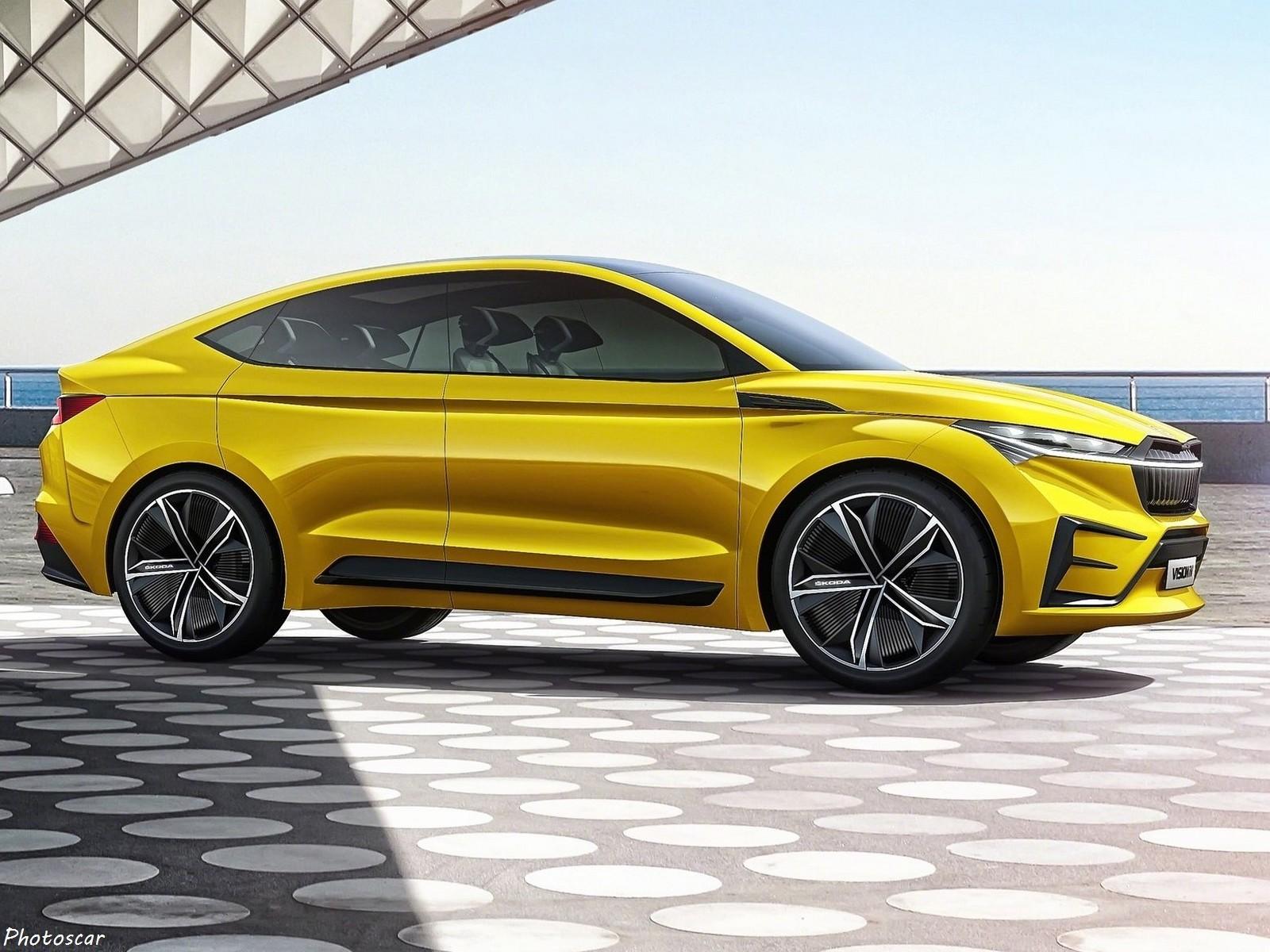 Skoda Vision iV Concept 2019