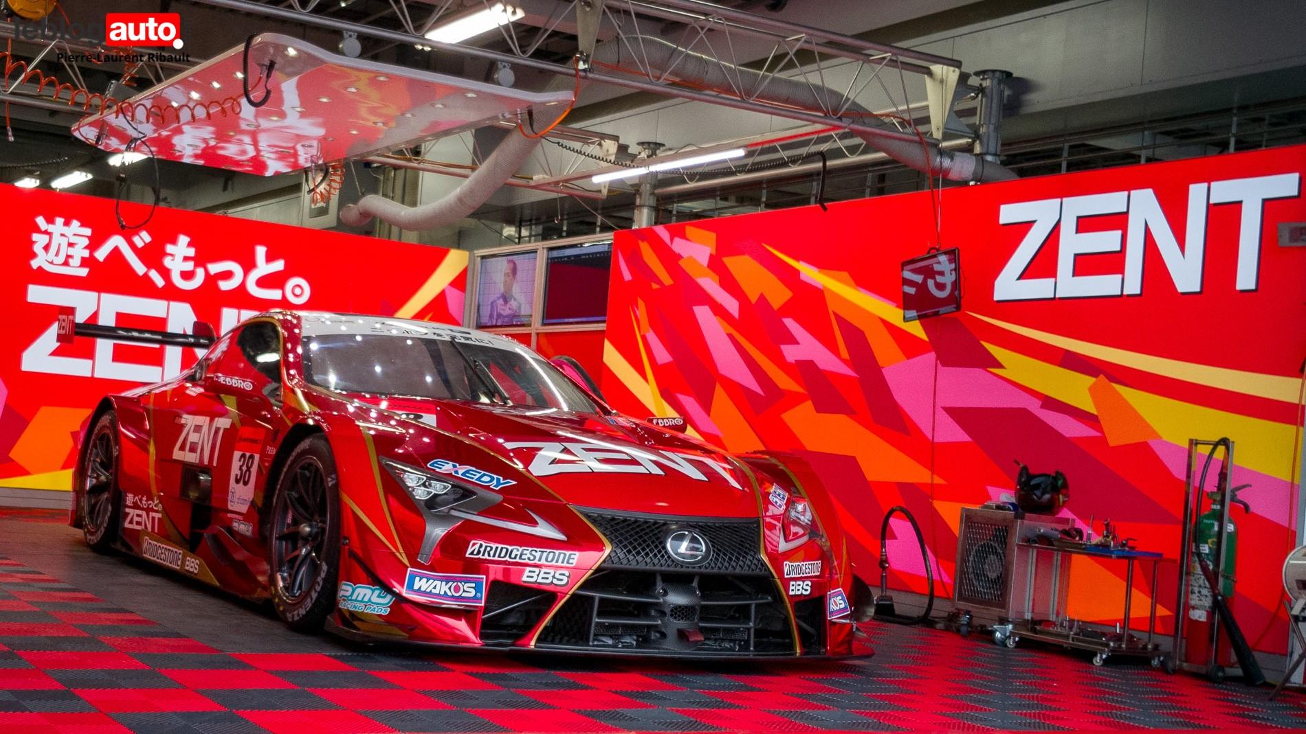 Super GT 2019 GT500 Lexus