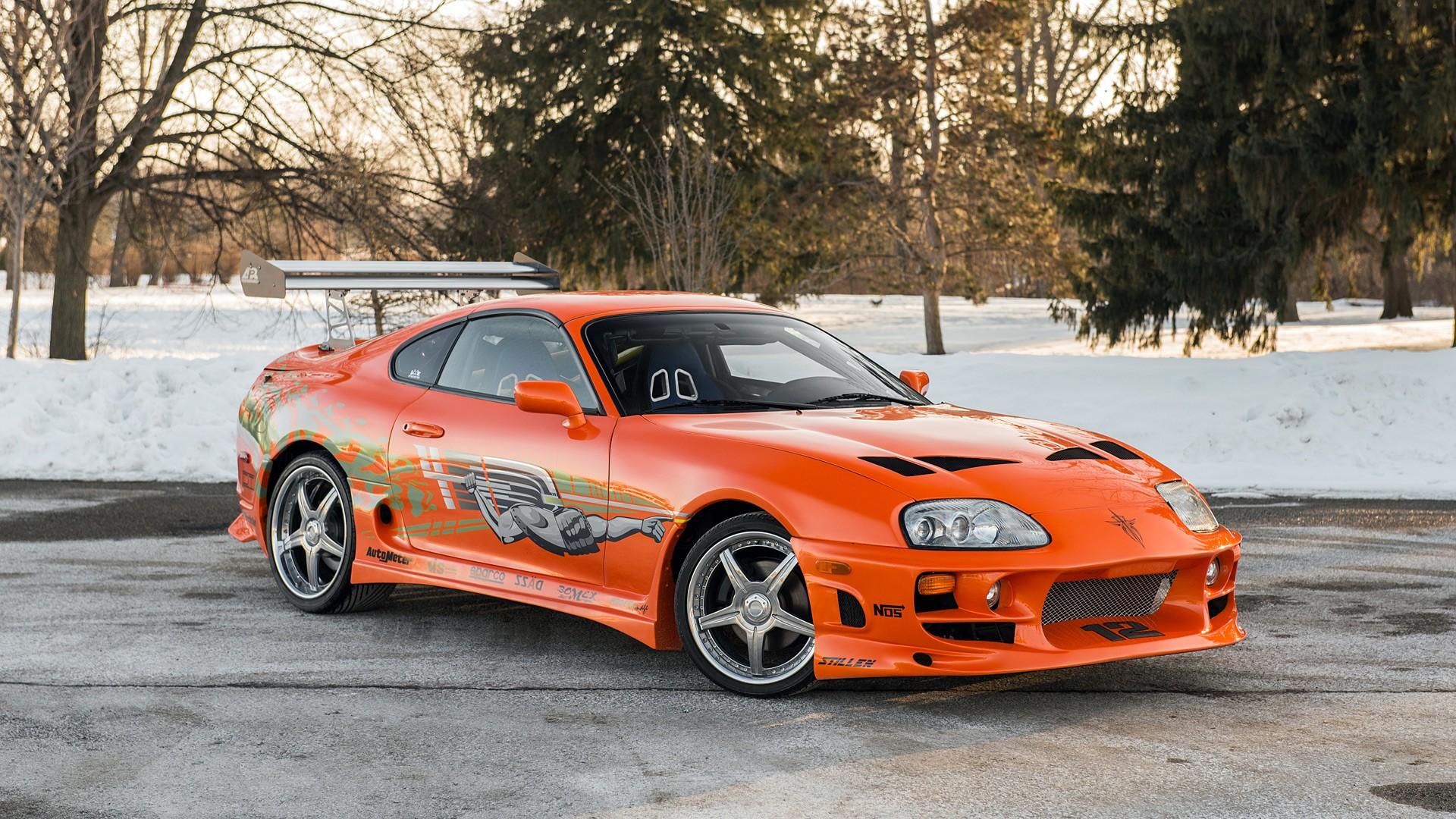 Toyota Supra Fast and Furious 2001